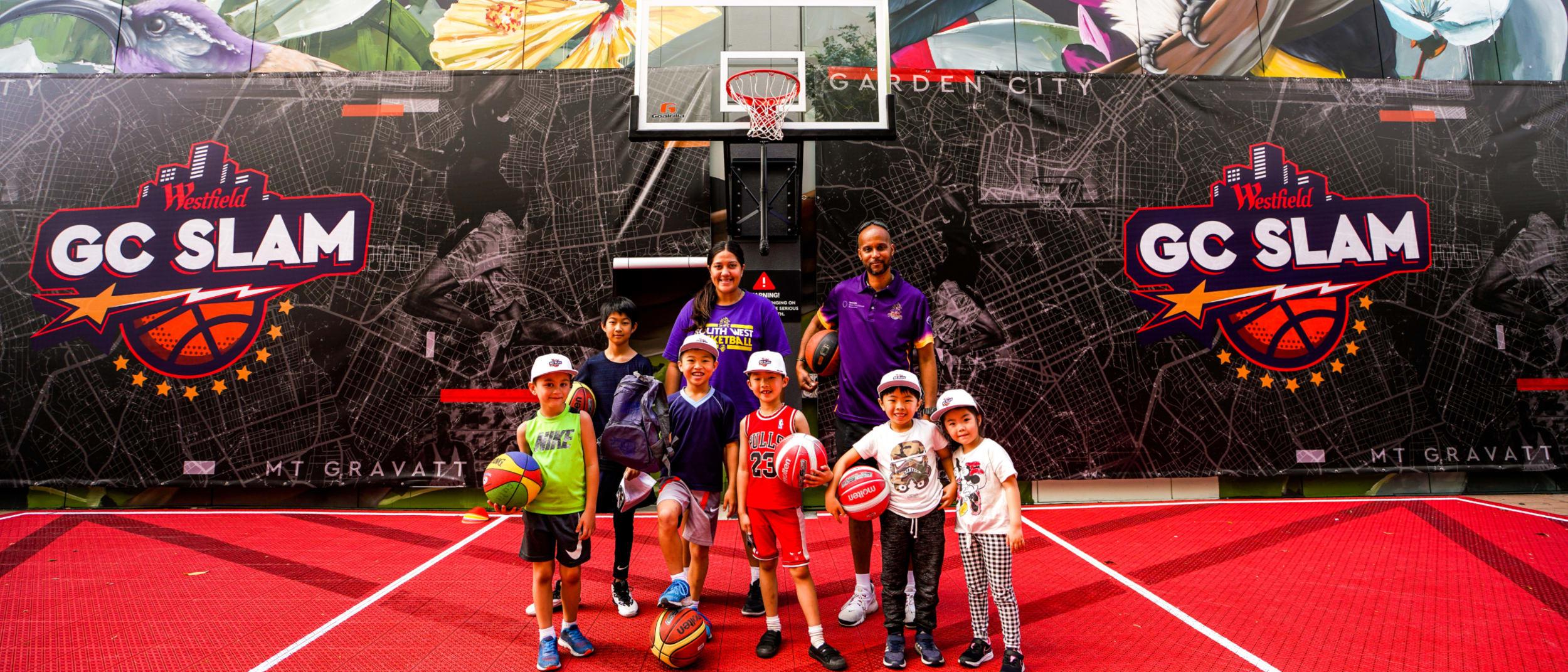 The GC Slam Basketball Court