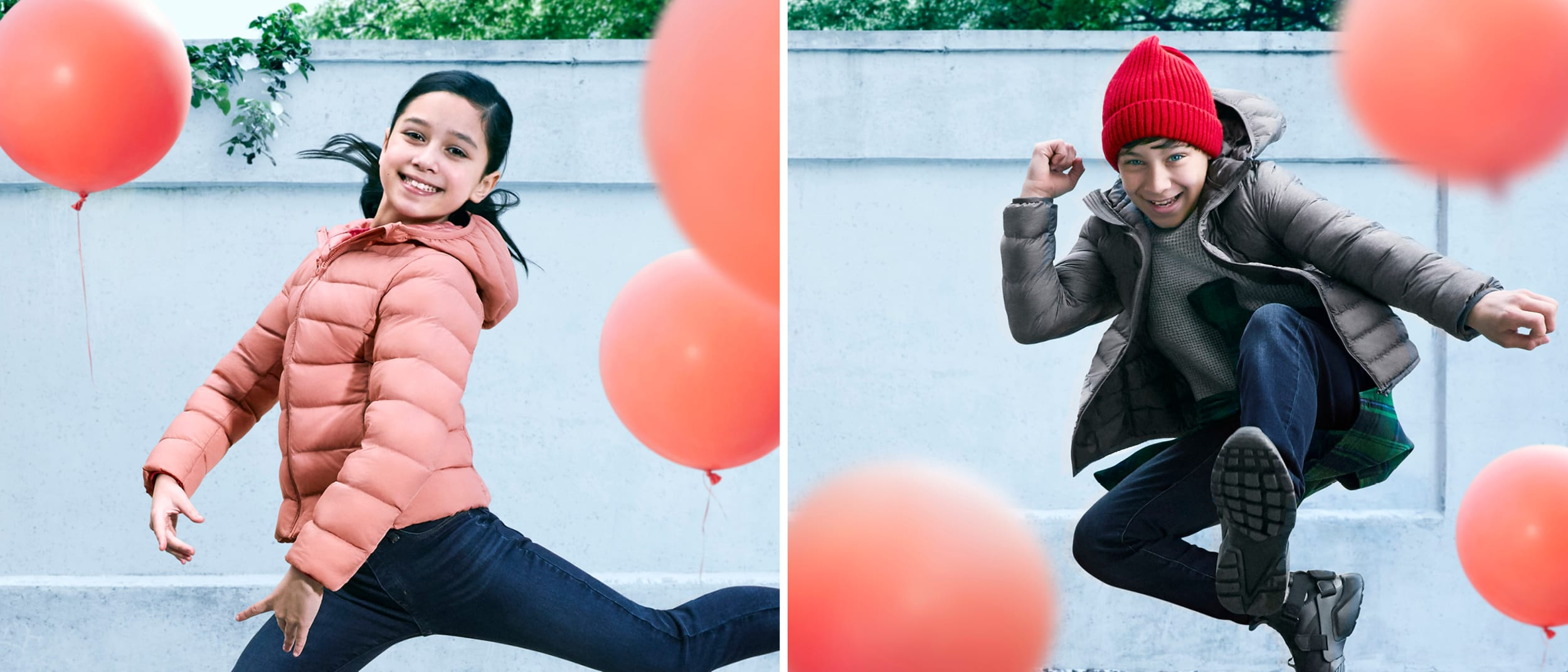 Warm up for winter with UNIQLO's kids range