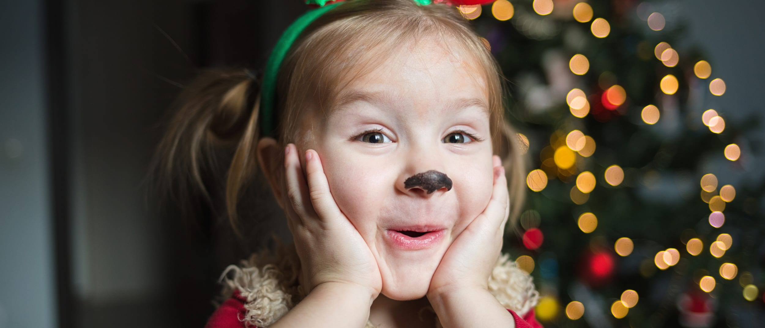 Free festive face painting this weekend