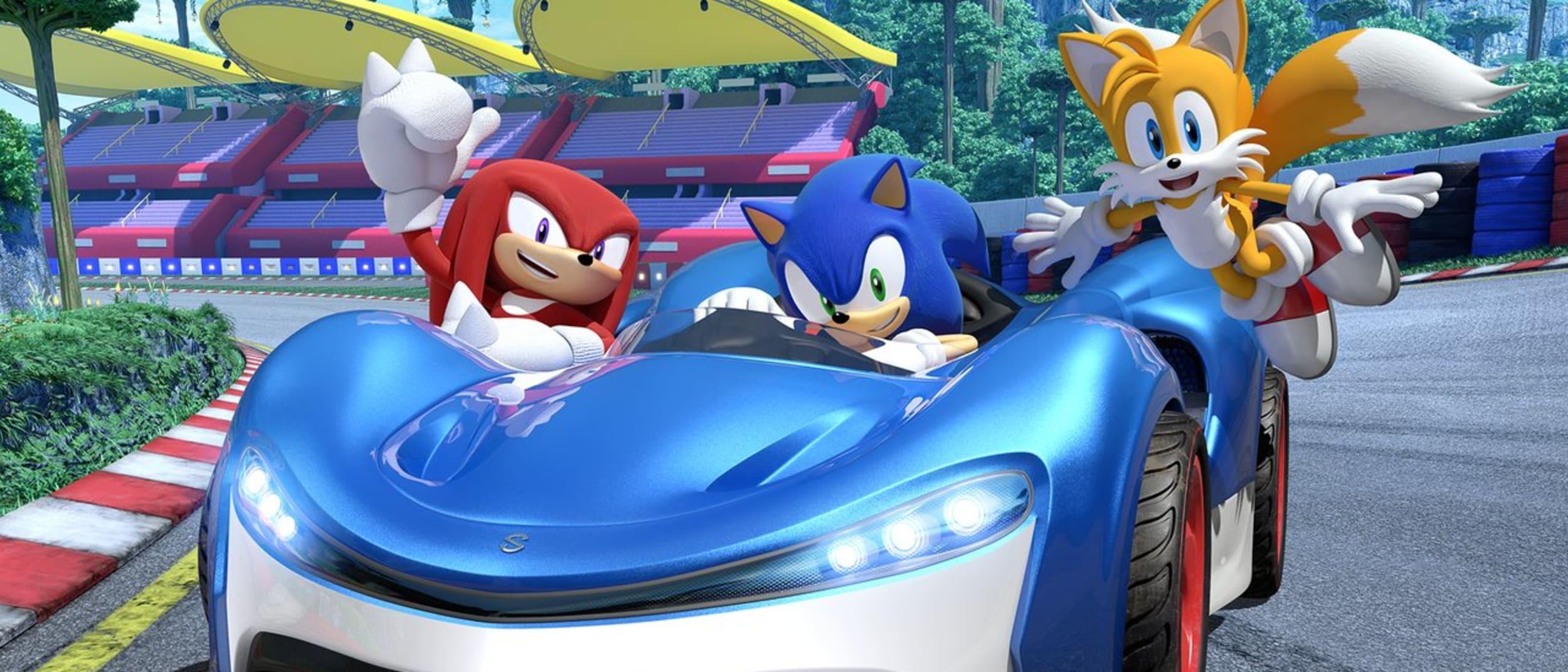 Team Sonic interactive games arena