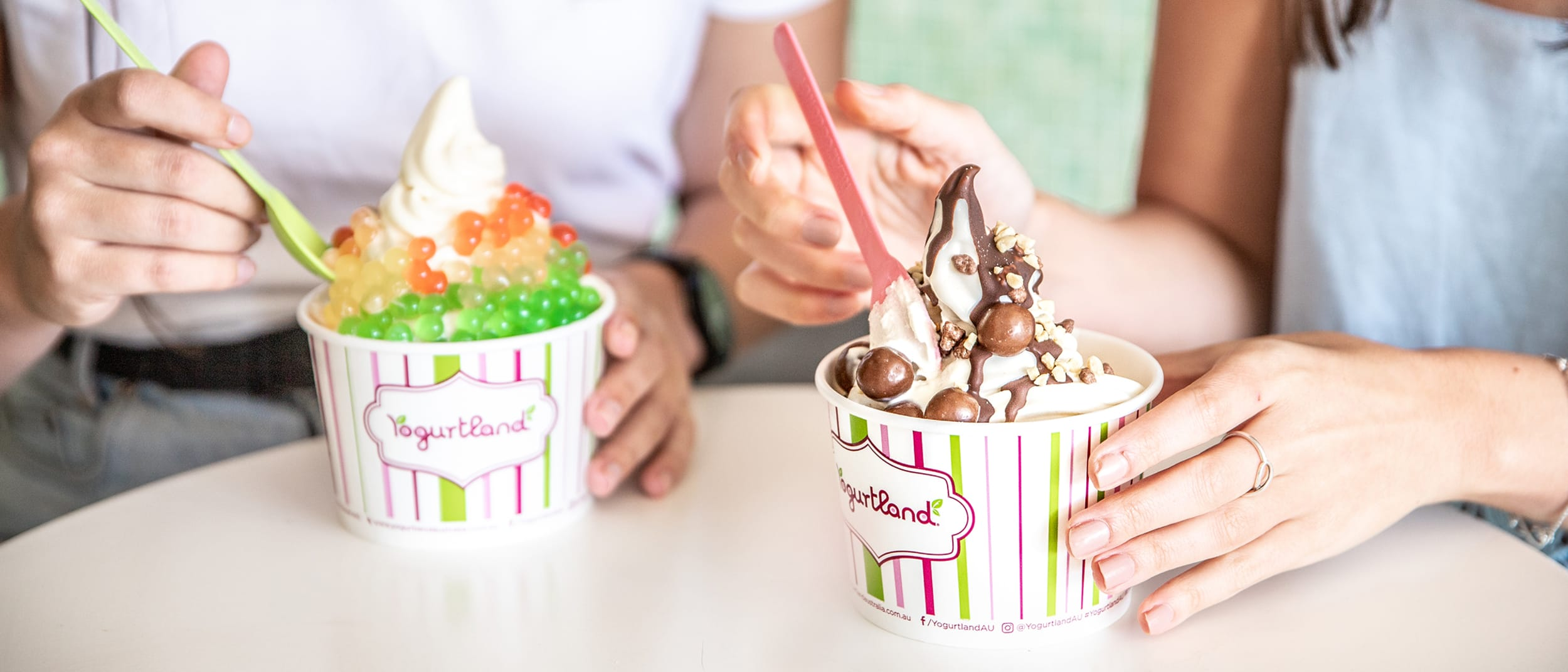 Yogurtland: Student Night