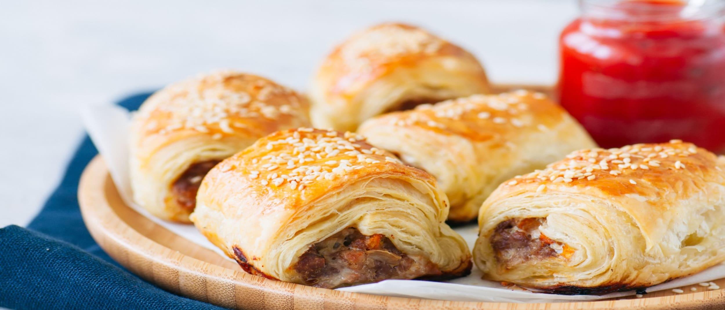 Nuts Galore: Sausage Rolls
