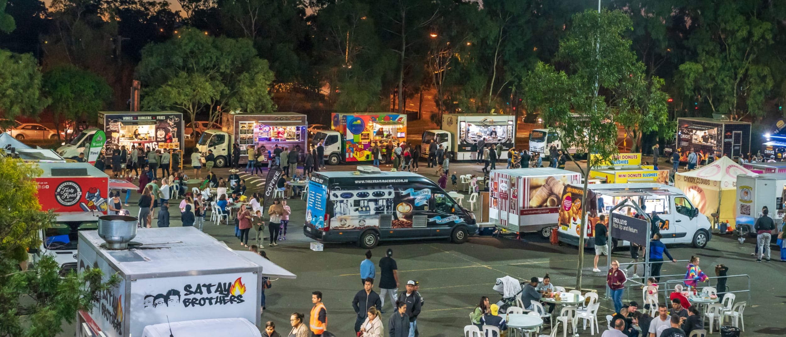 Food Trucks By Night