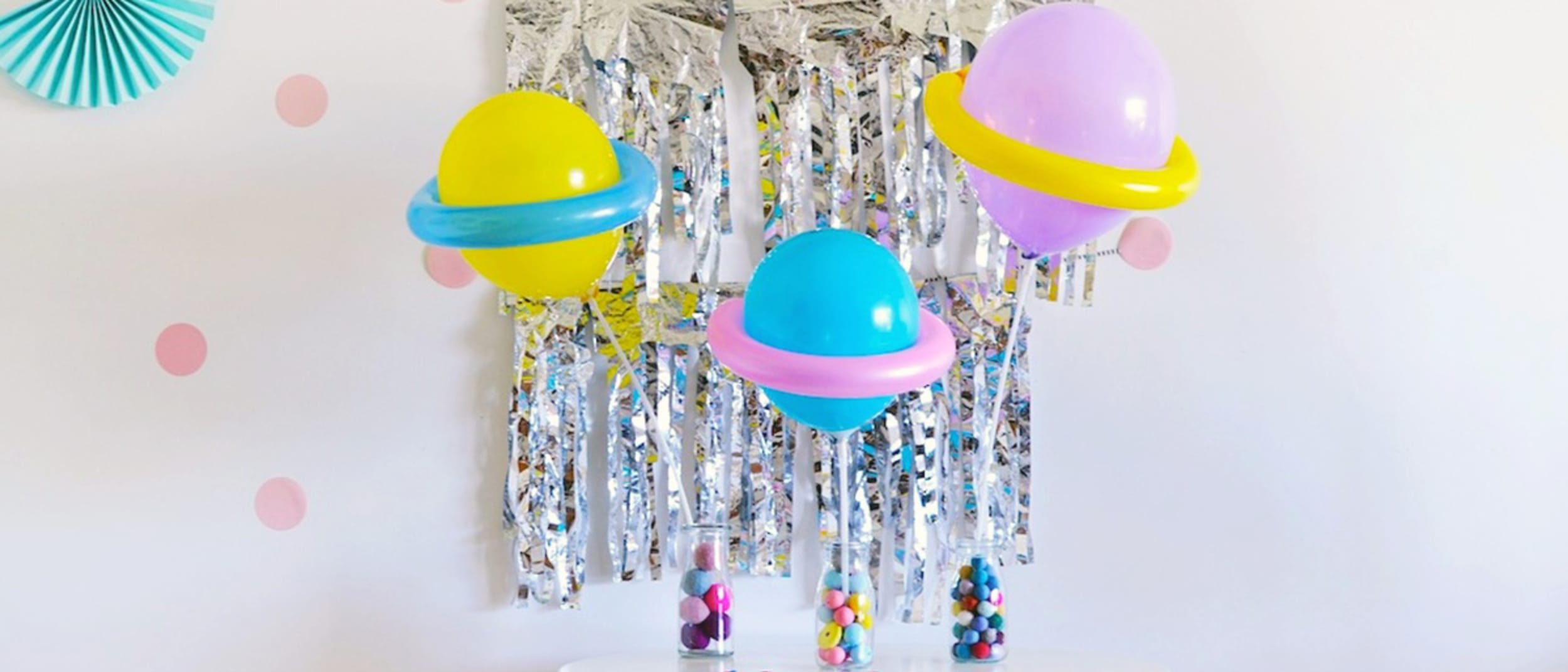 Party planning: DIY balloon planets
