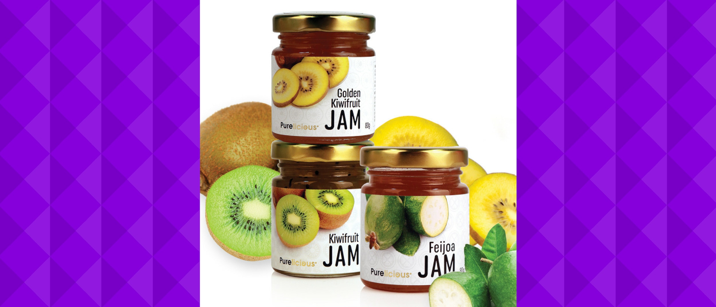 New Zealand The Gift: receive a FREE Purelicious Feijoa Jam*
