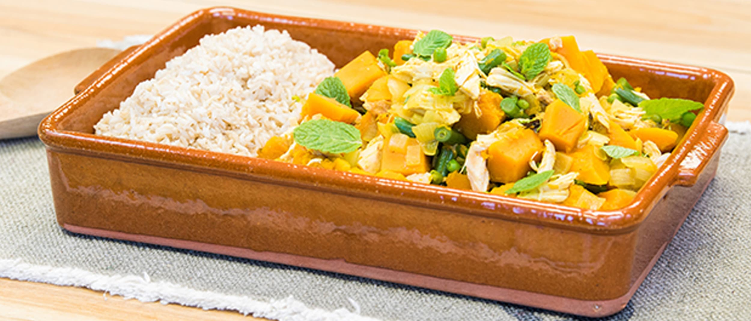Pumpkin & Chicken Curry Recipe from PAK'nSAVE