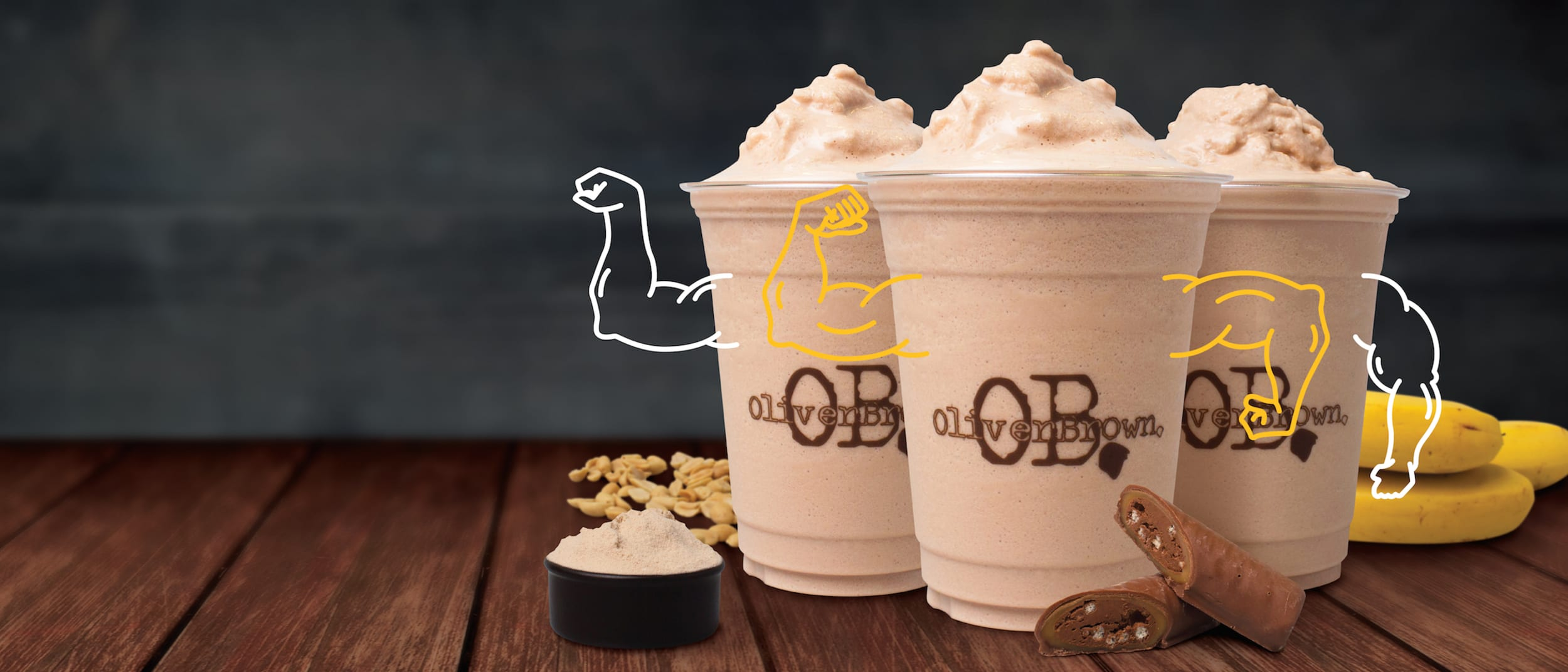 Oliver Brown: NEW Protein Choc Shakes