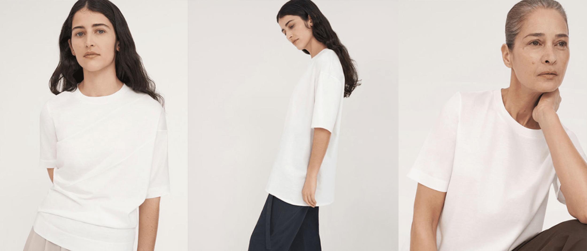 COS: Meet your perfect white T-shirt