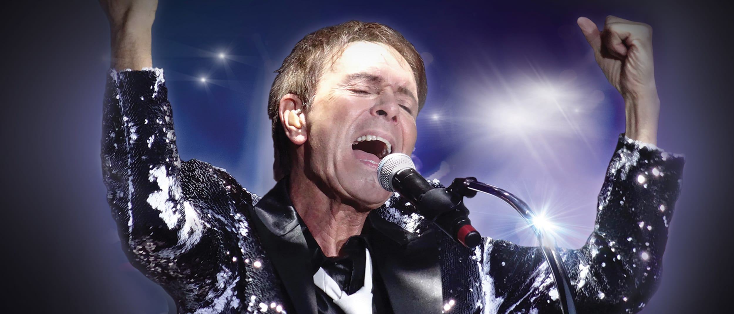 Legendary Cliff Richard live on the big screen