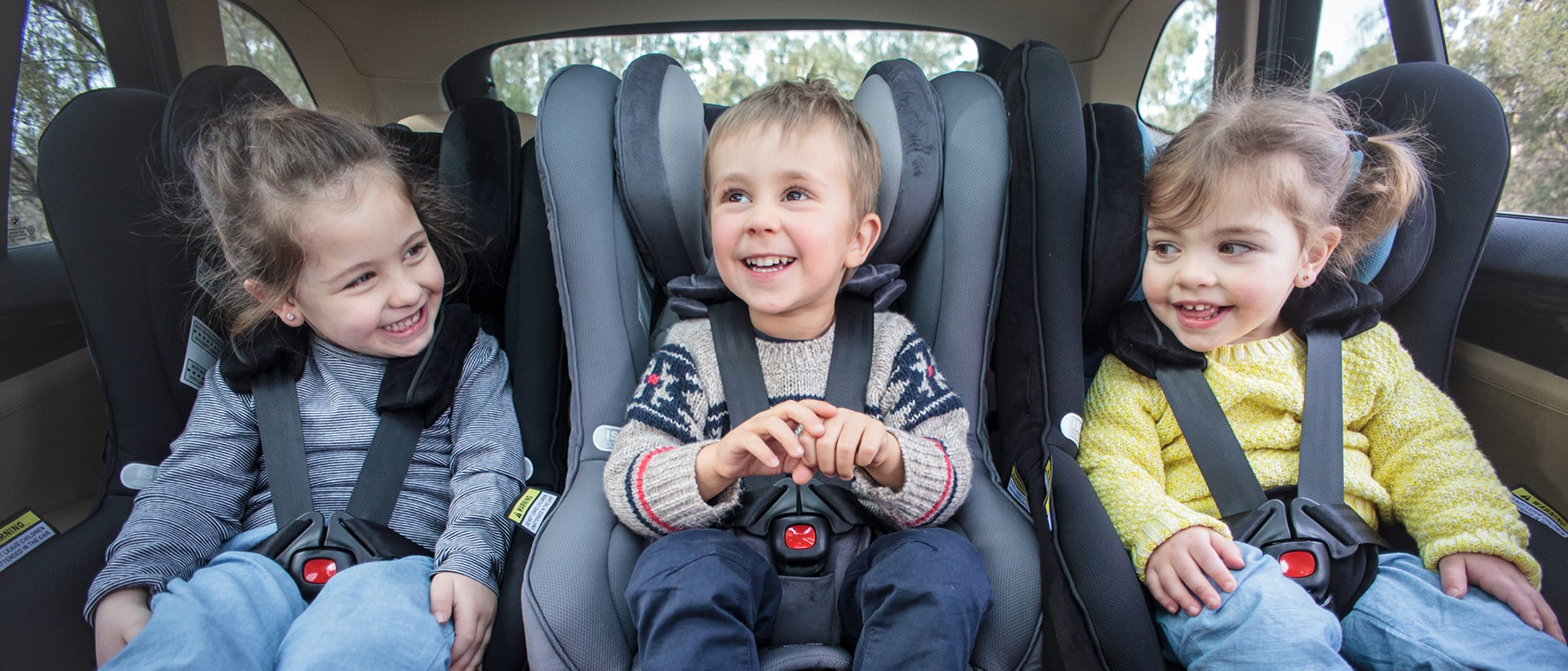 Child car seat safety checks with Kidsafe