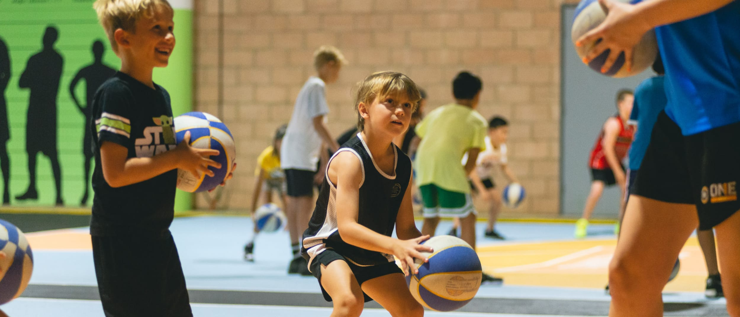 Basketball clinics for kids