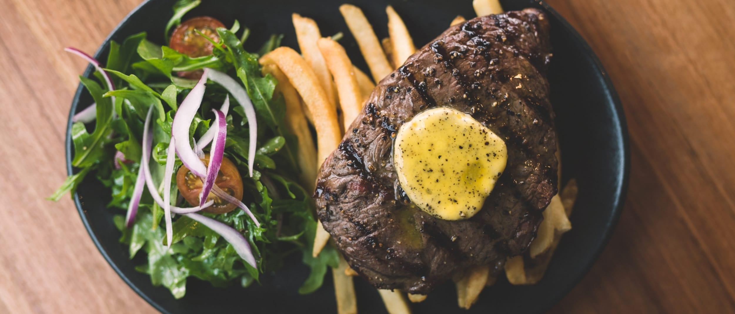 The Waverley Brewhouse: steak Wednesdays
