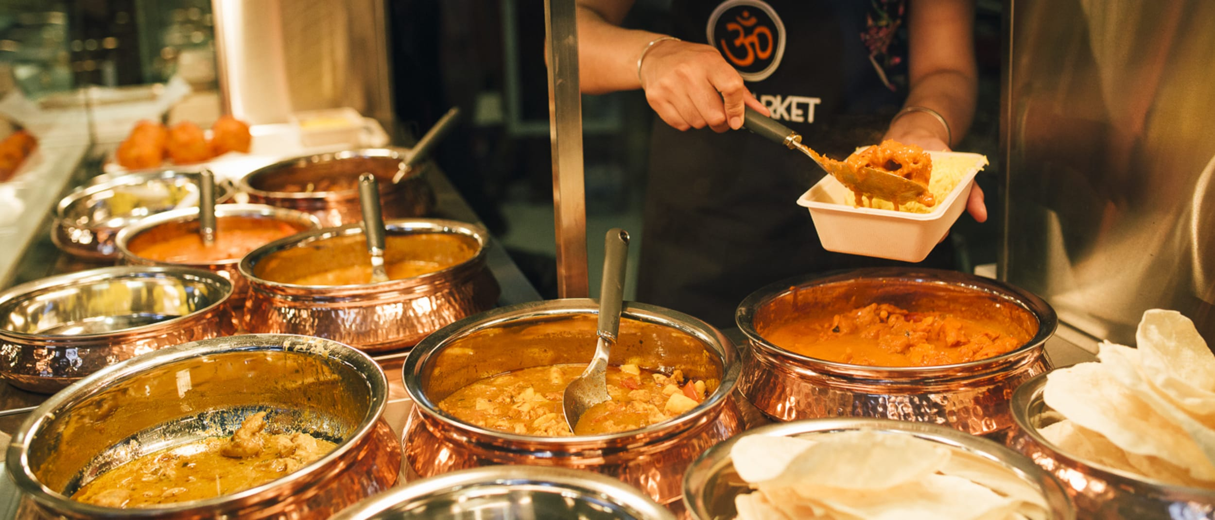 Santoshi curry and rice meal deal