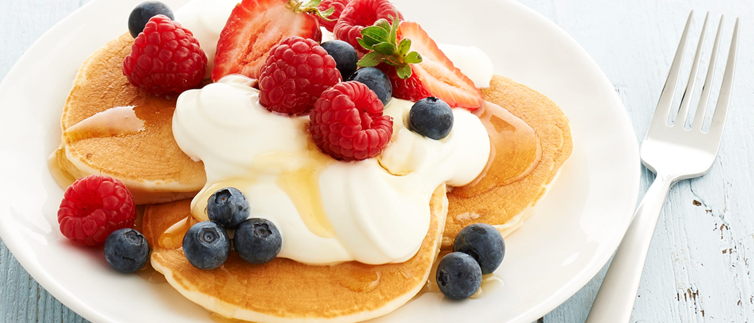 The perfect homemade pancakes