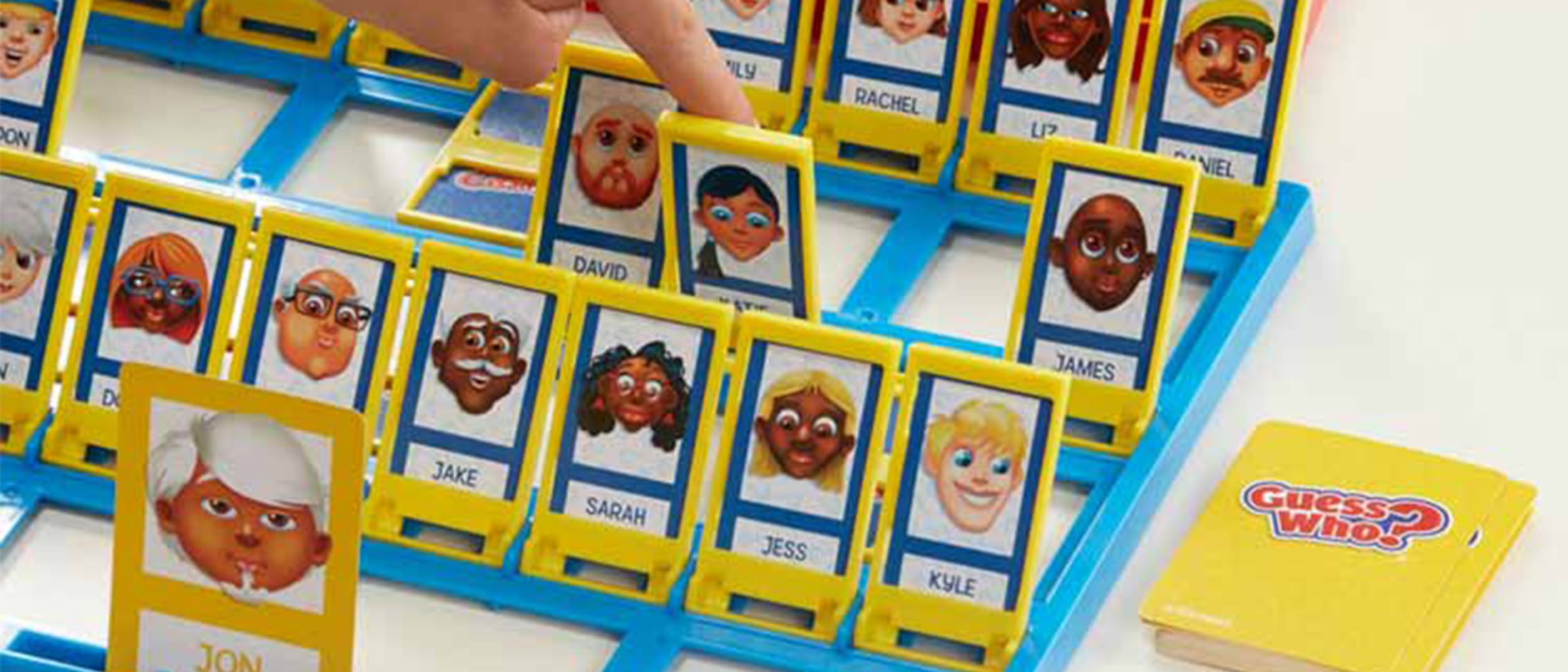 Taste. Shop. Play: Giant Guess Who