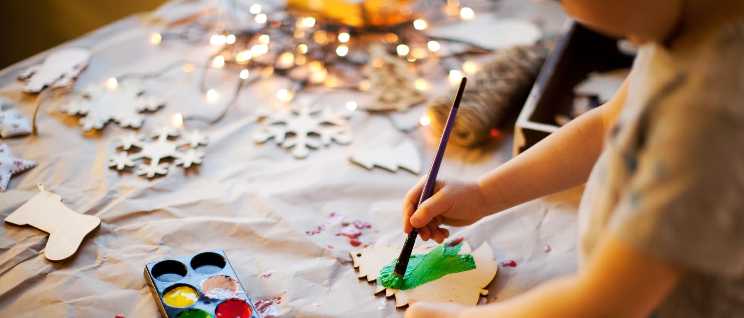 Christmas Kids Craft Zone