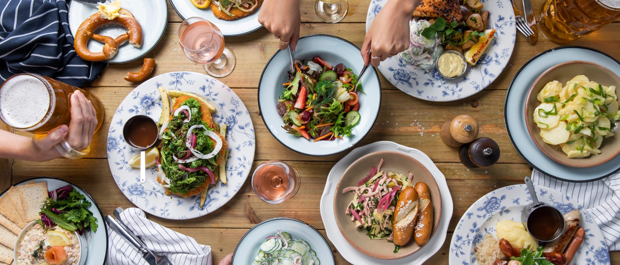 The Bavarian: New summer menu