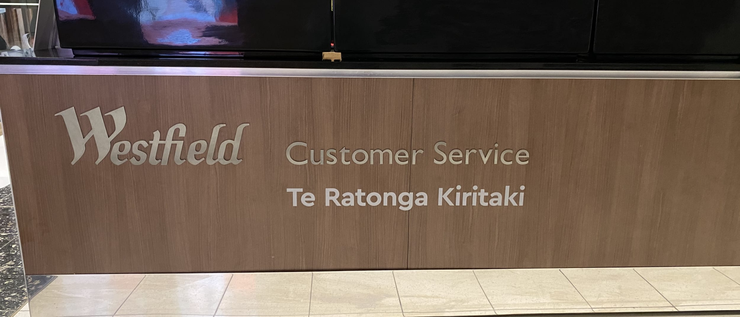 Westfield Manukau to include te reo Māori in our centre signage