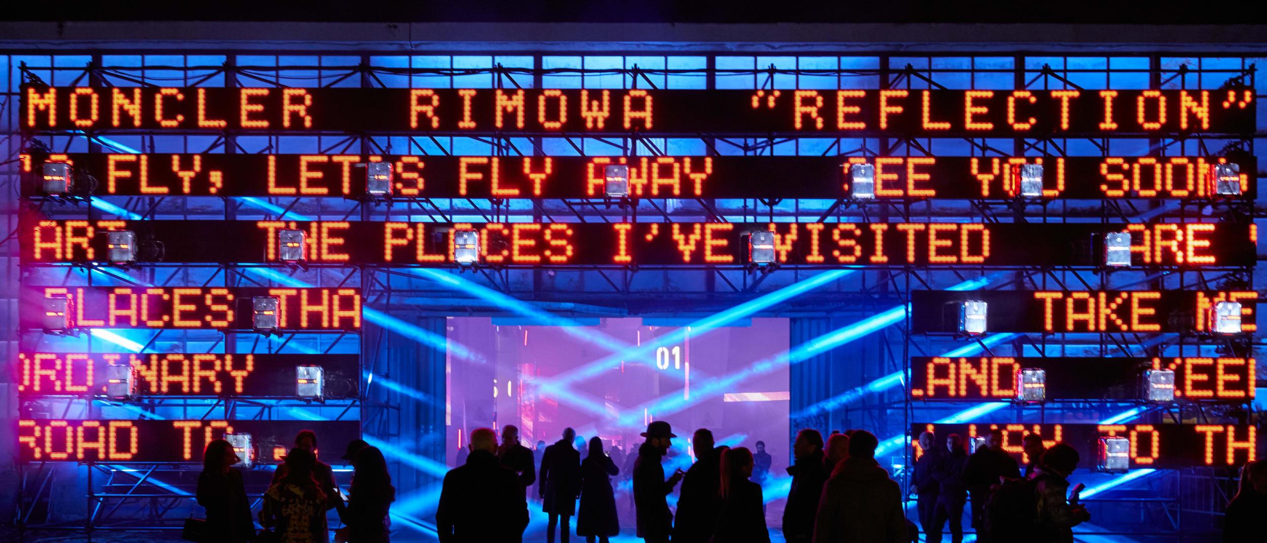 Moncler & RIMOWA: Reflection