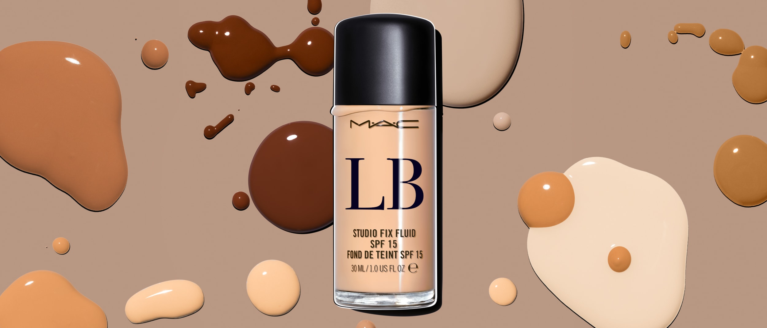 M.A.C Cosmetics: complimentary monogramming with Studio Fix Fluid