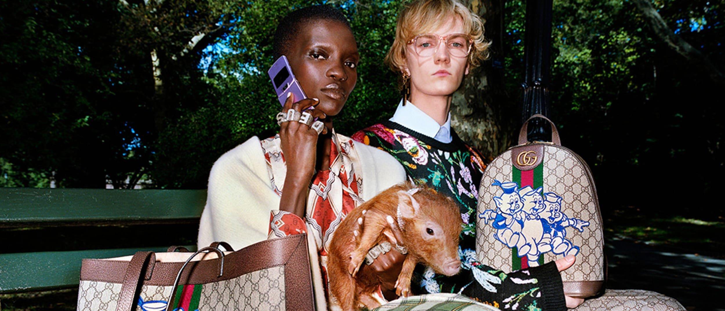 Gucci celebrates the Year of the Pig with a dedicated collection