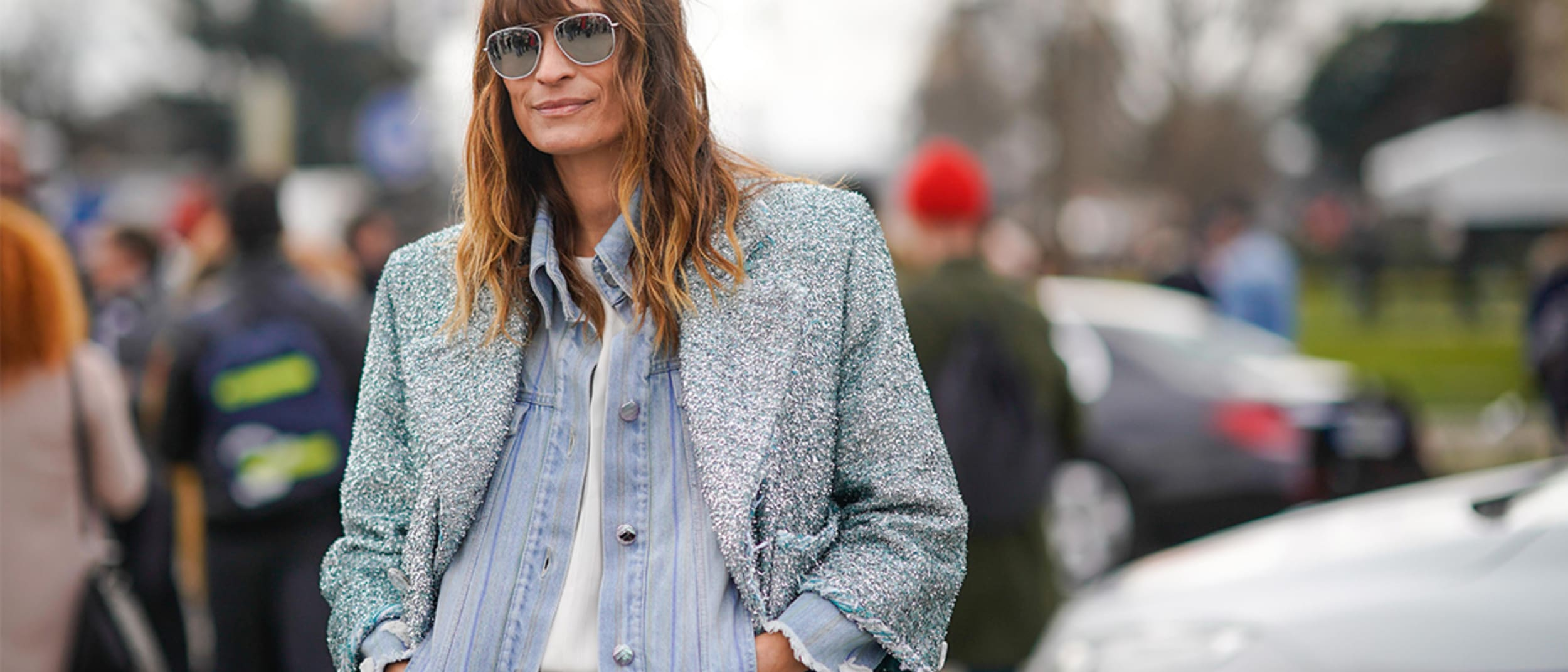 Casual cool: how to wear relaxed denim this autumn