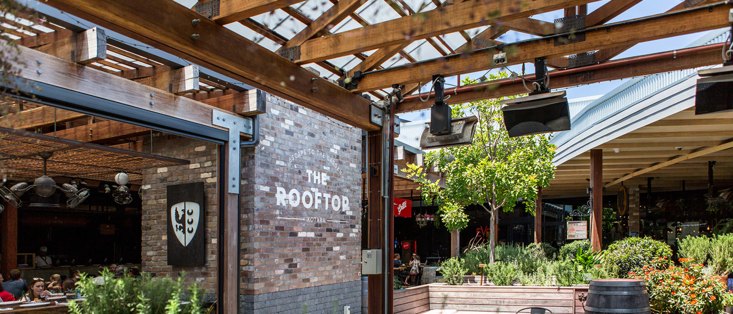 The Rooftop restaurants, cinemas and entertainment