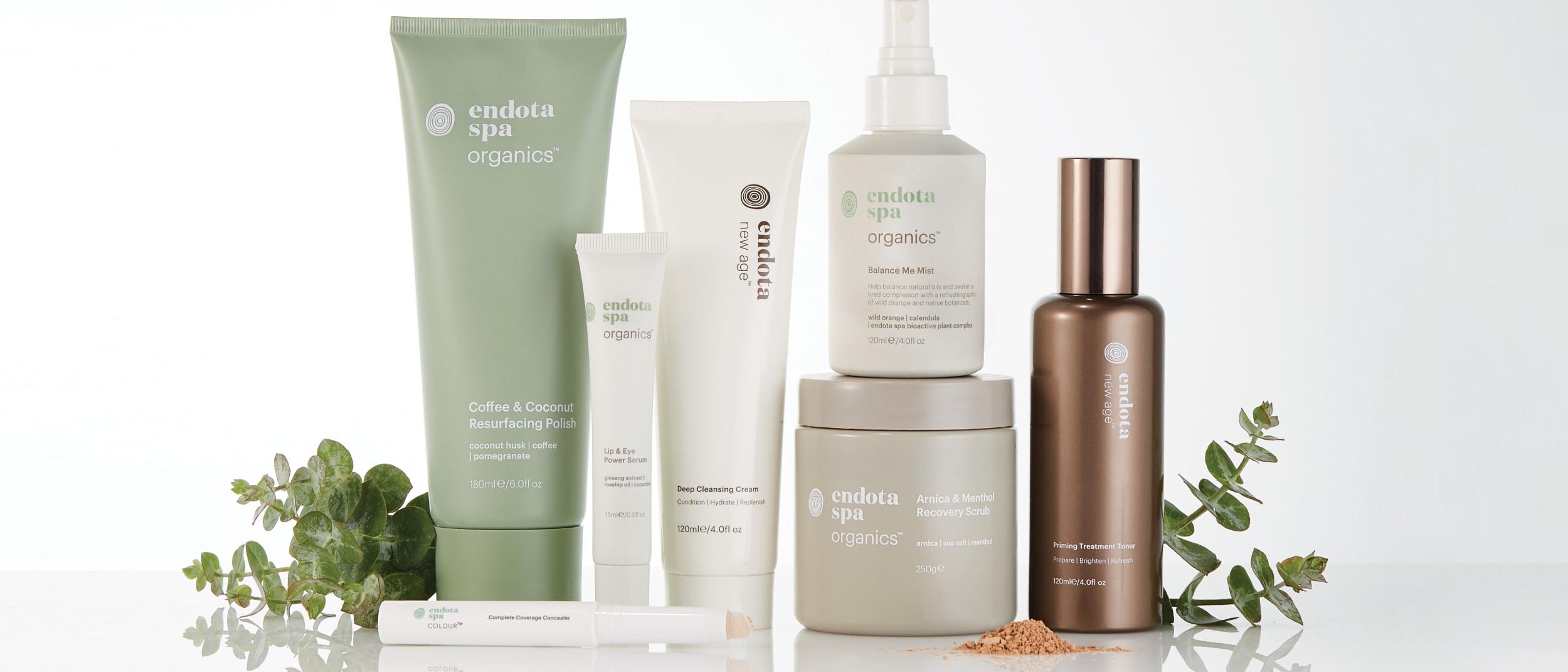 Endota: Enjoy 20% off skincare range