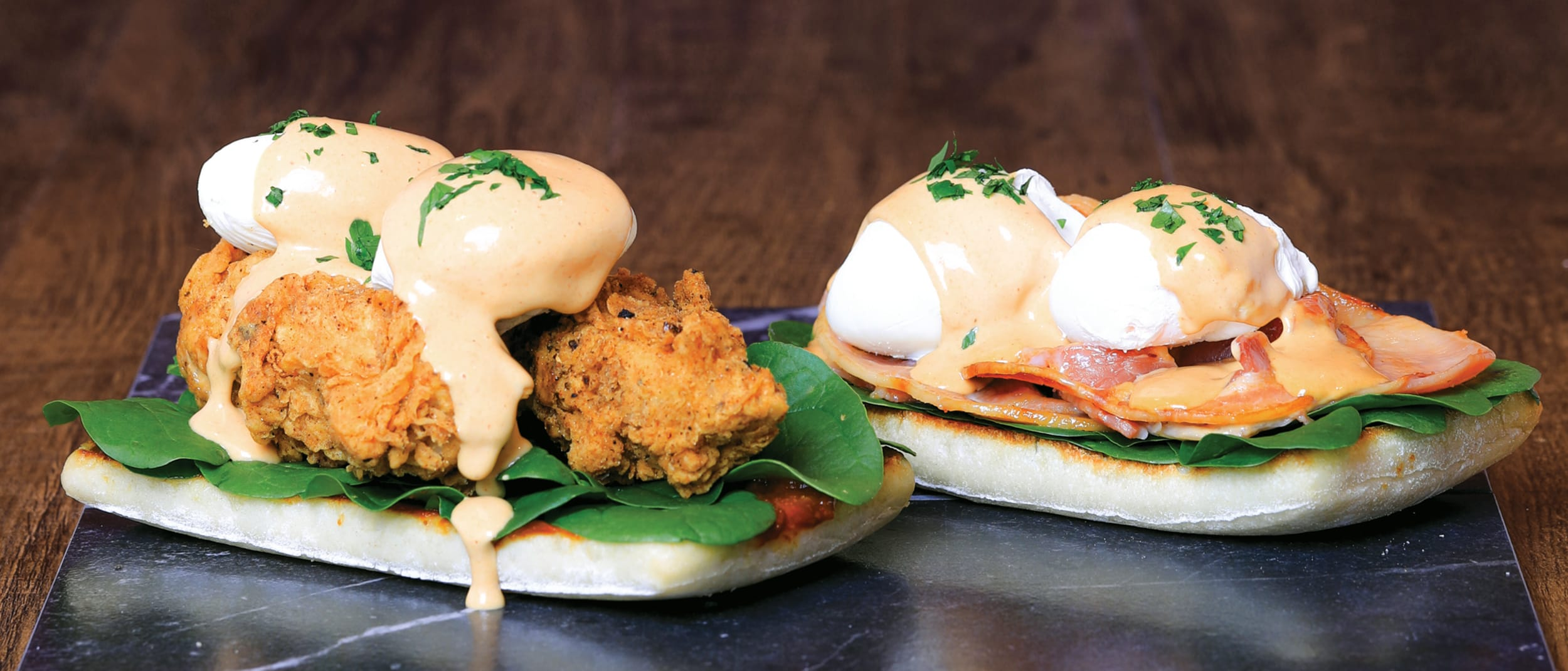Southern style eggs bene limited time offer*