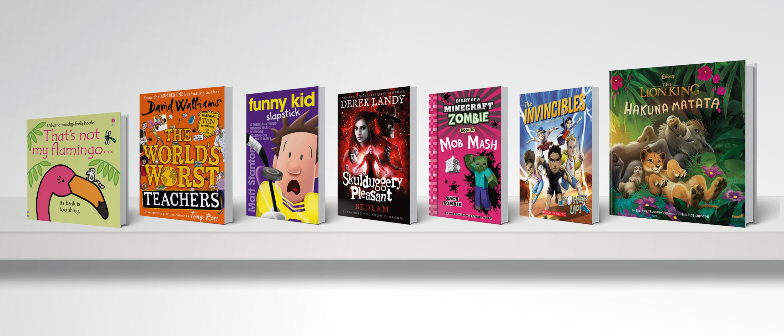 Whitcoulls:Fun Starts Here - Buy 1, Get 1 Half Price Kids' Books*