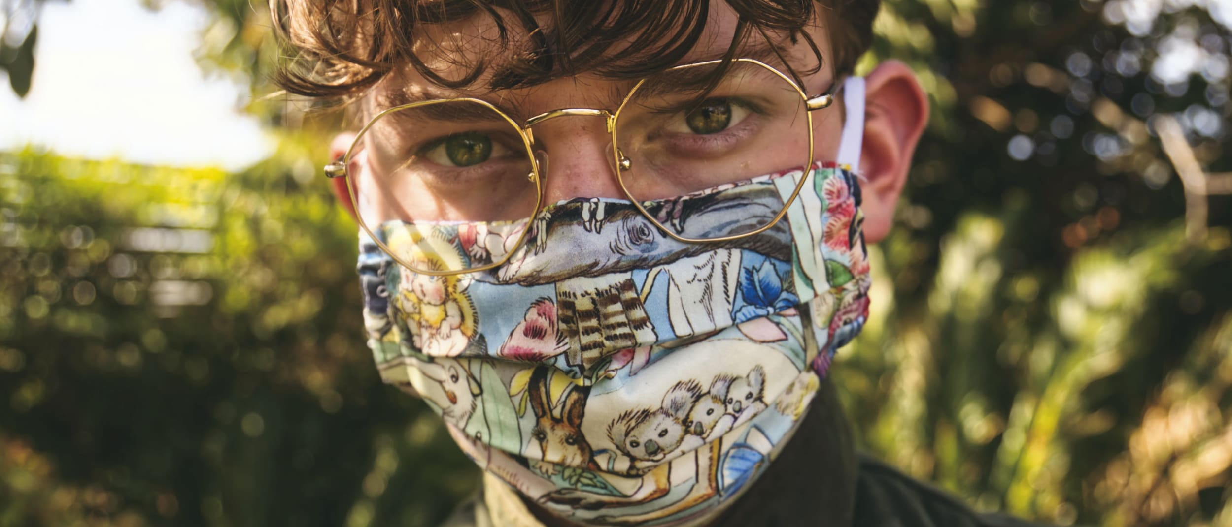 Face masks 101: How to rock 2020's most unexpected accessory