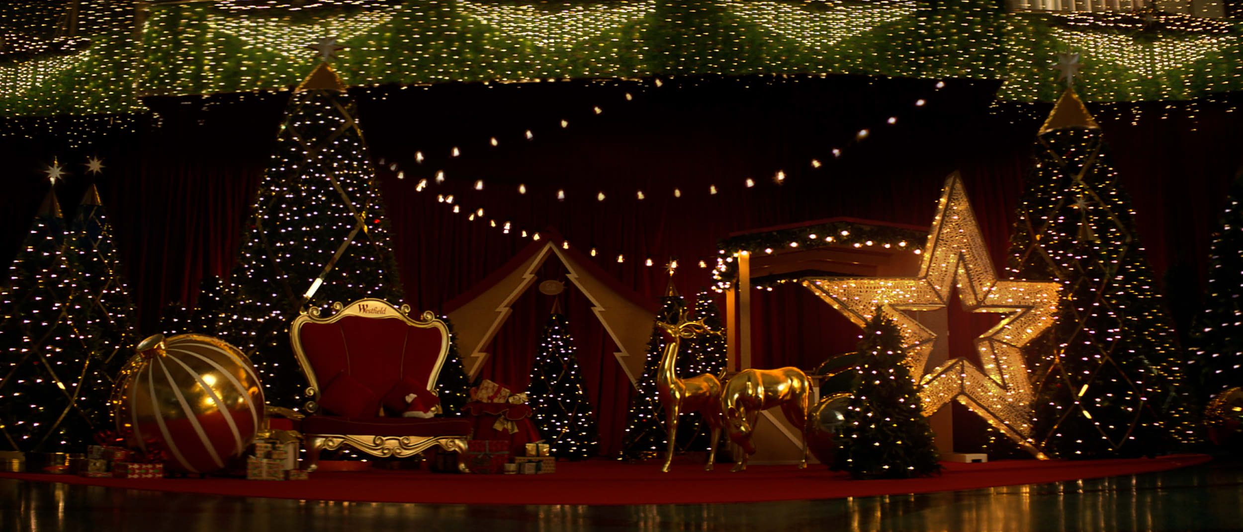 Christmas at Westfield Tea Tree Plaza this year