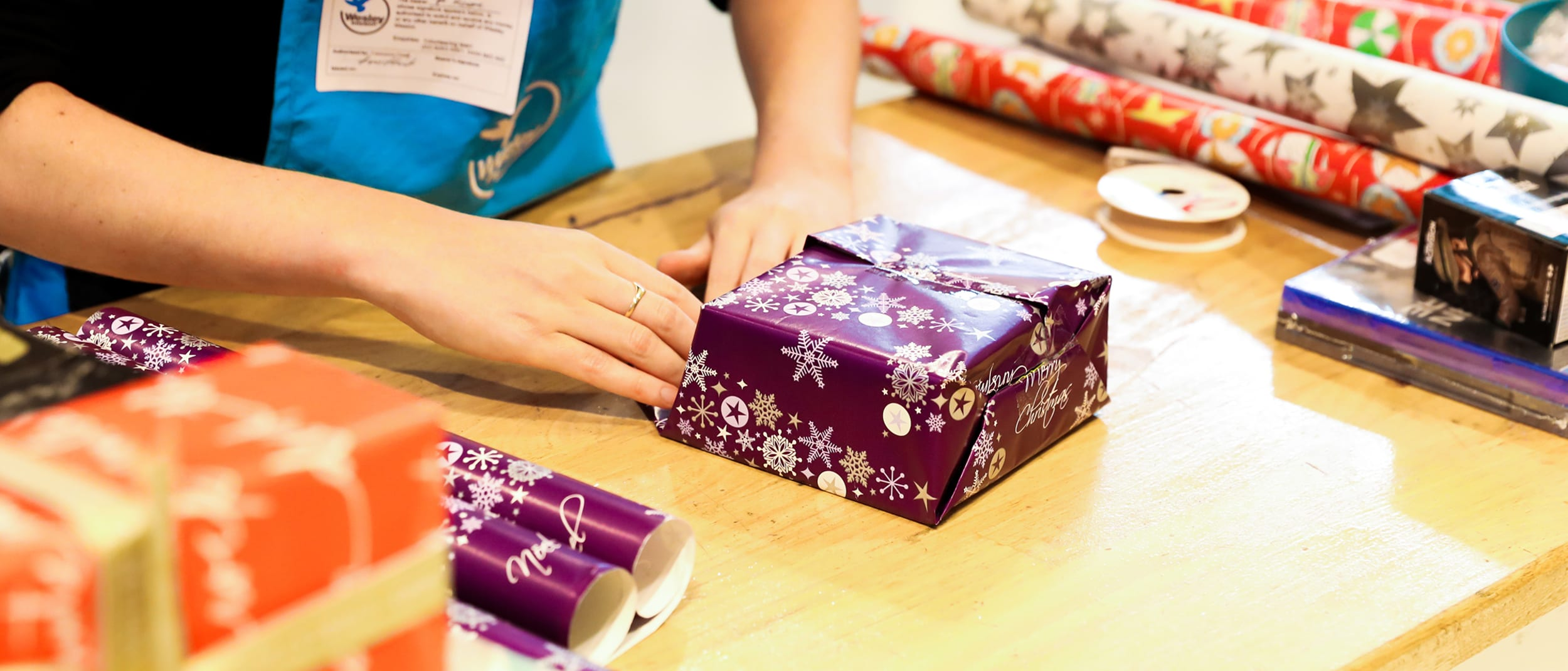 Wrapping for a good cause