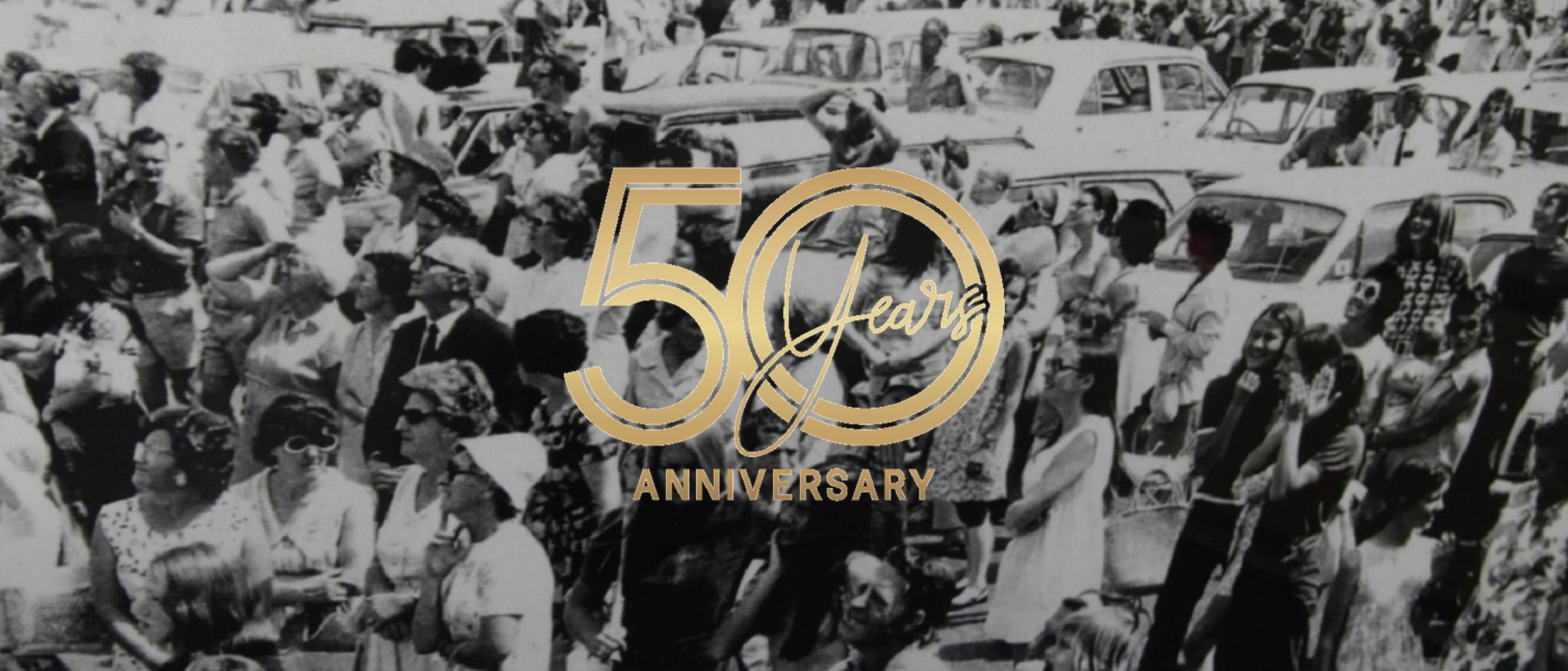 Celebrate 50 years of Garden City