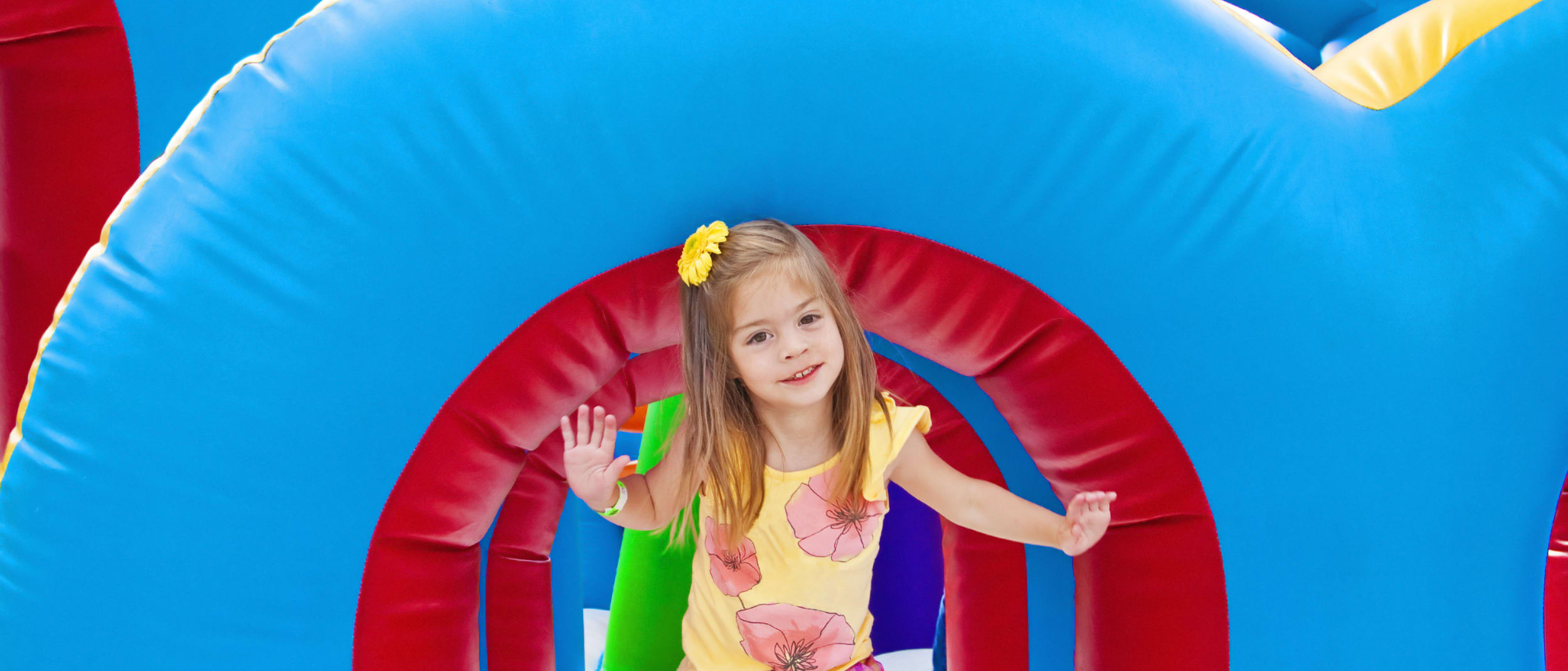 School Holidays Activities: Jumping Castle