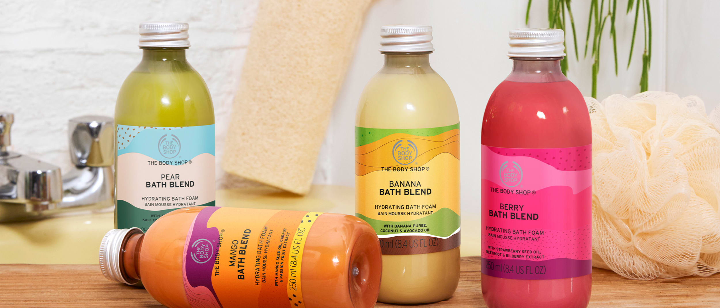 How to create your own at-home spa with The Body Shop