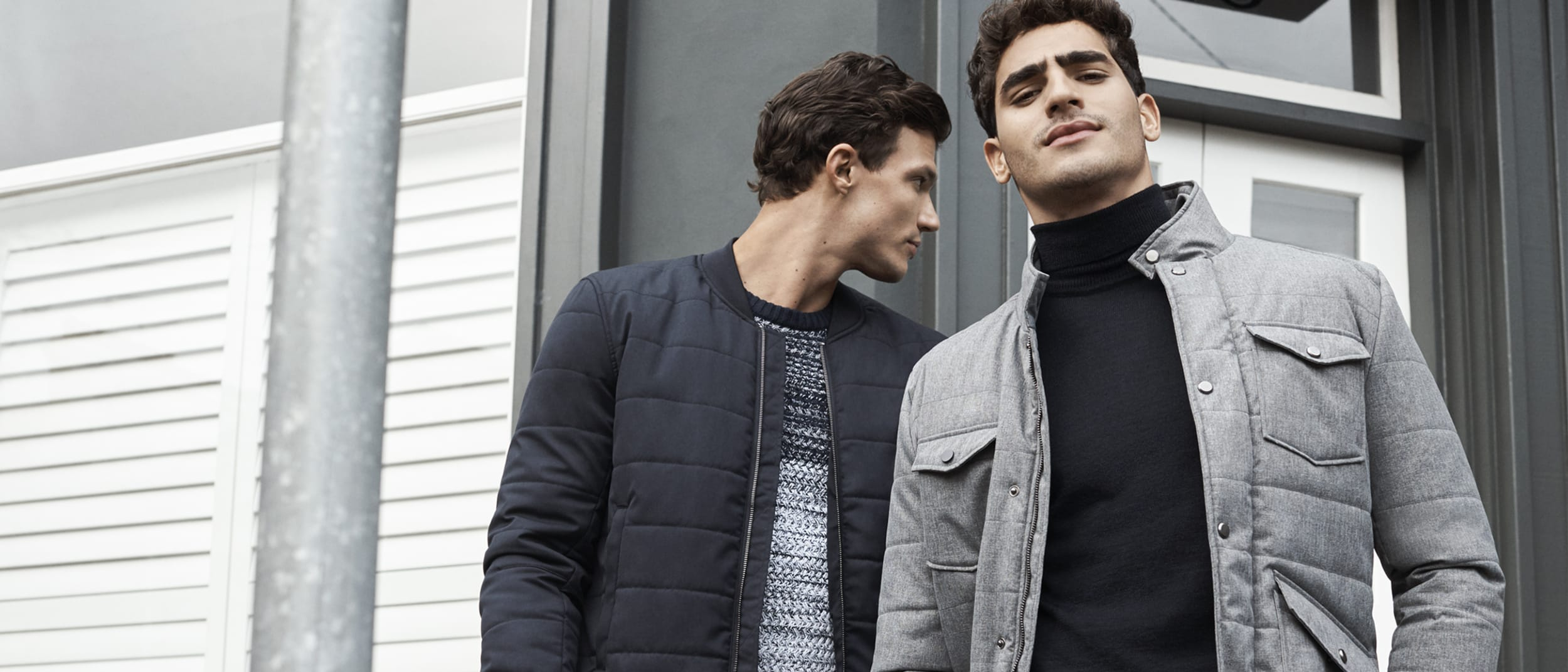 Politix: $100 off casual jackets, top and bottom combo