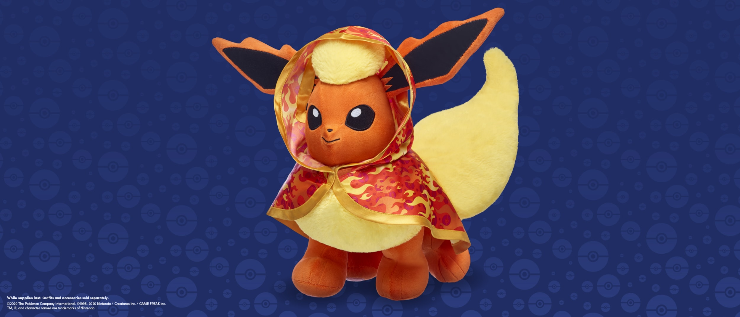 Pokemon Flareon has arrived at Build-A-Bear Workshop