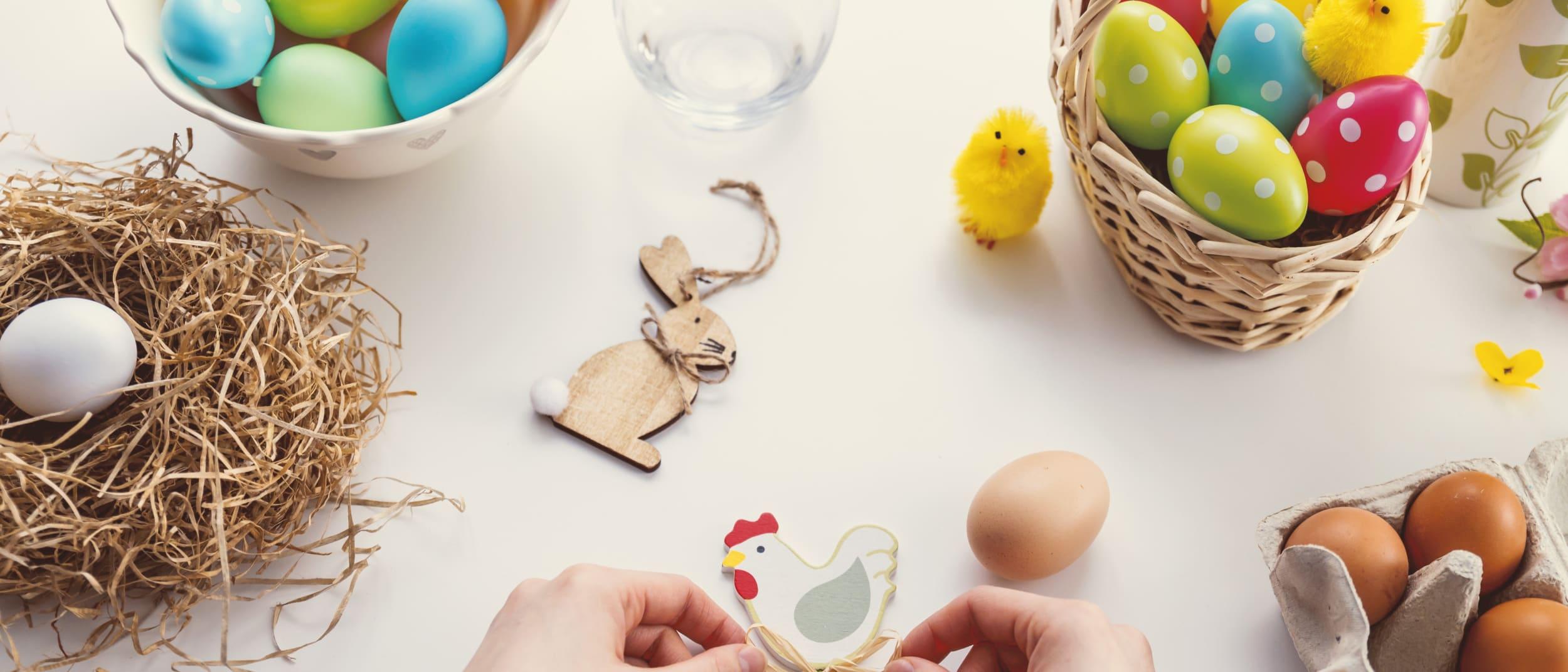 Eggcellent Easter Workshops