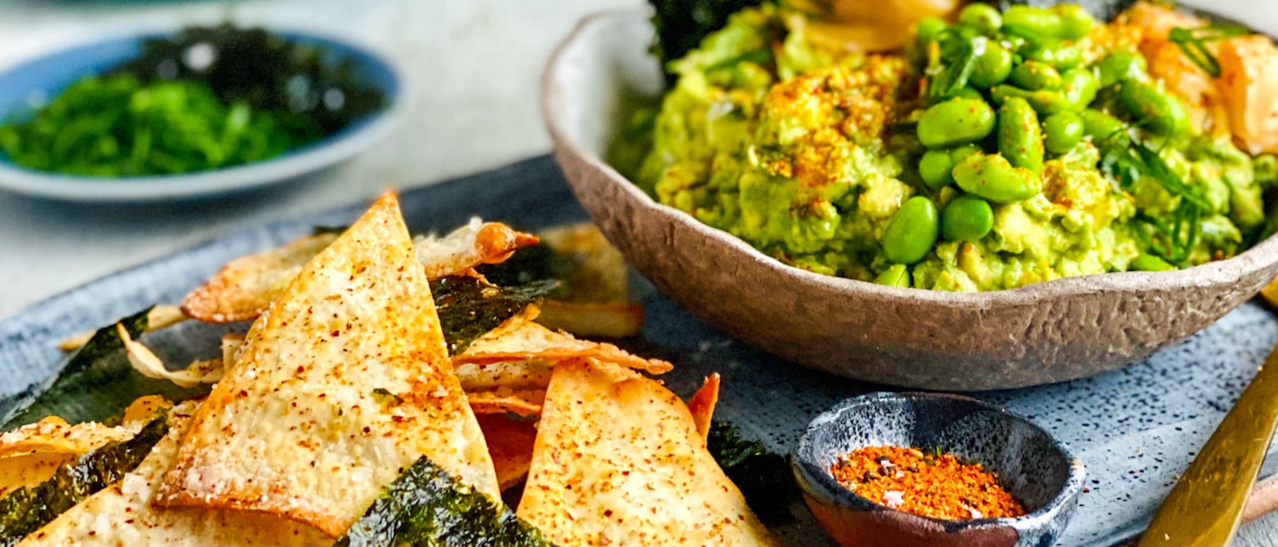 Recipe: Japanese inspired delcado guacamole