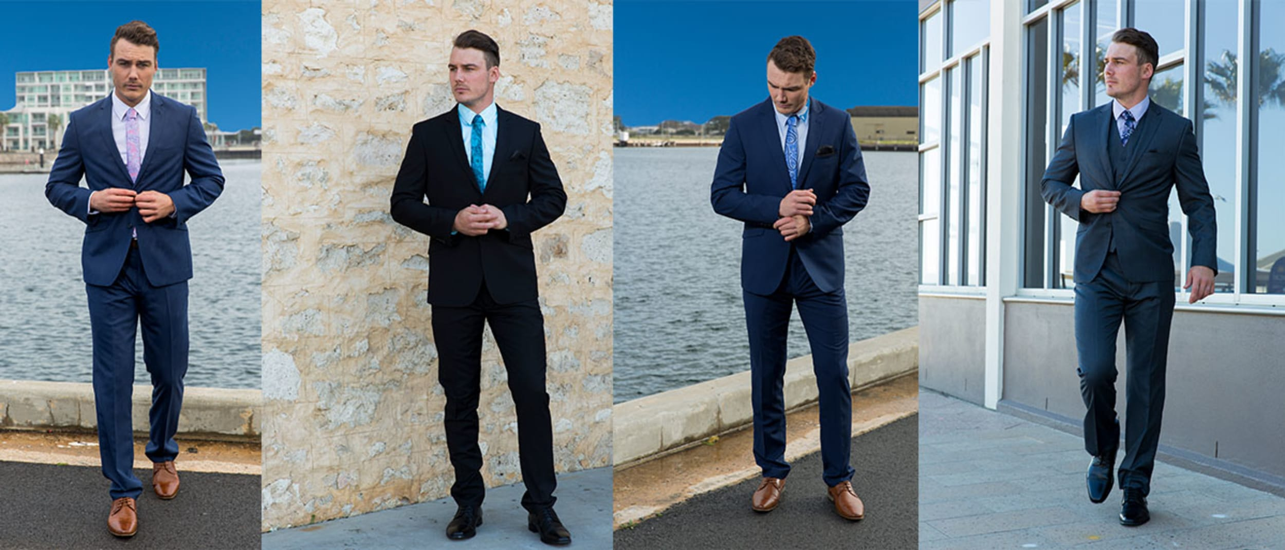 Ed Harry: 2pc suits half price $129.98