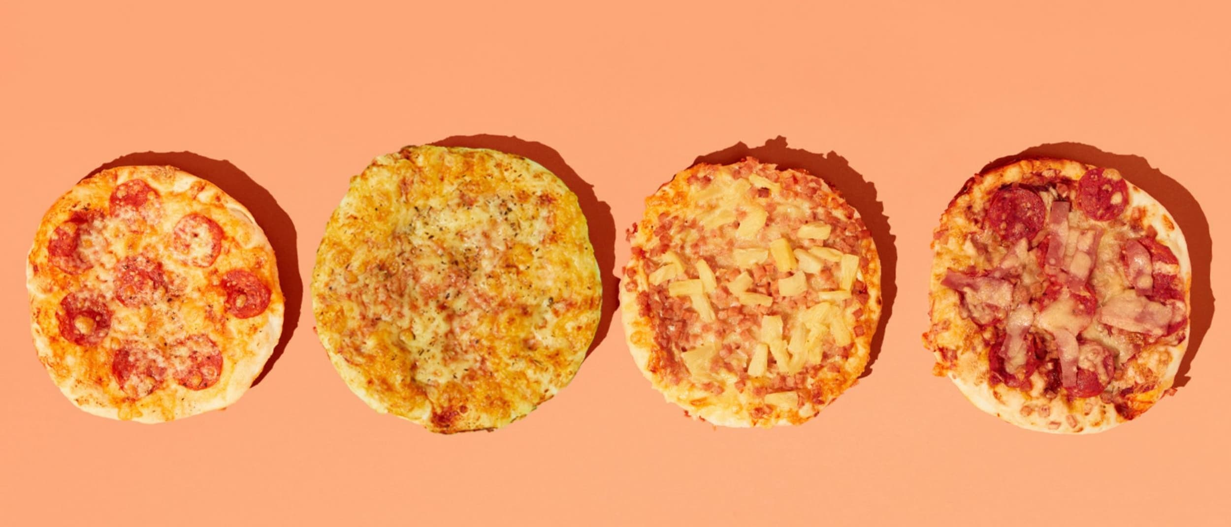 Bakers Delight: Any 2 pizzas for $8