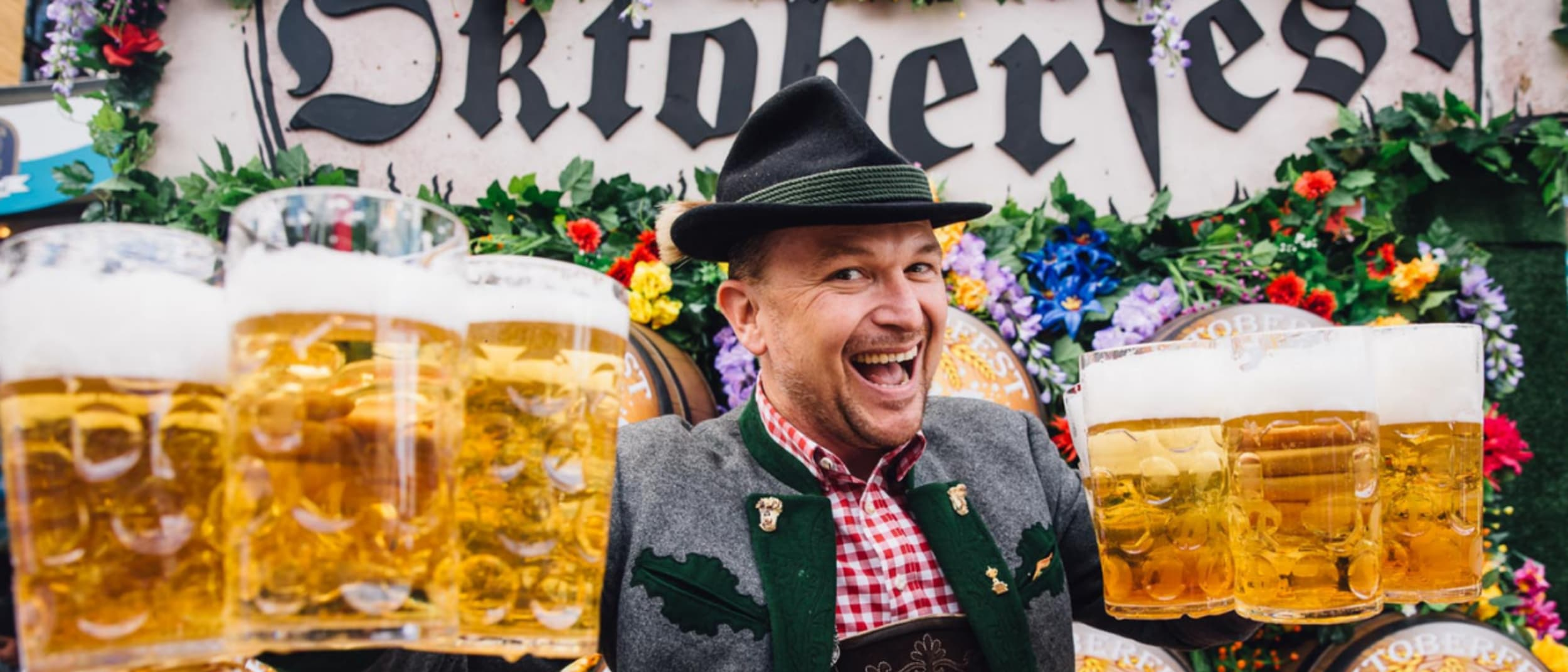 Limited edition Oktoberfest beers at The Bavarian