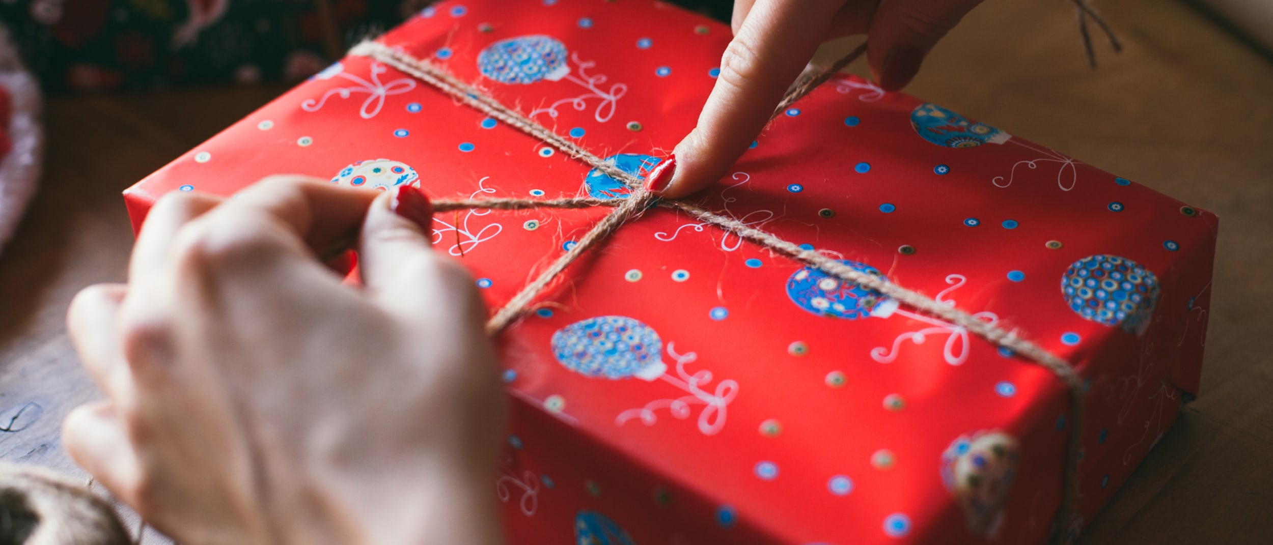 Christmas Gift Wrapping with Morningside Urban Market Garden