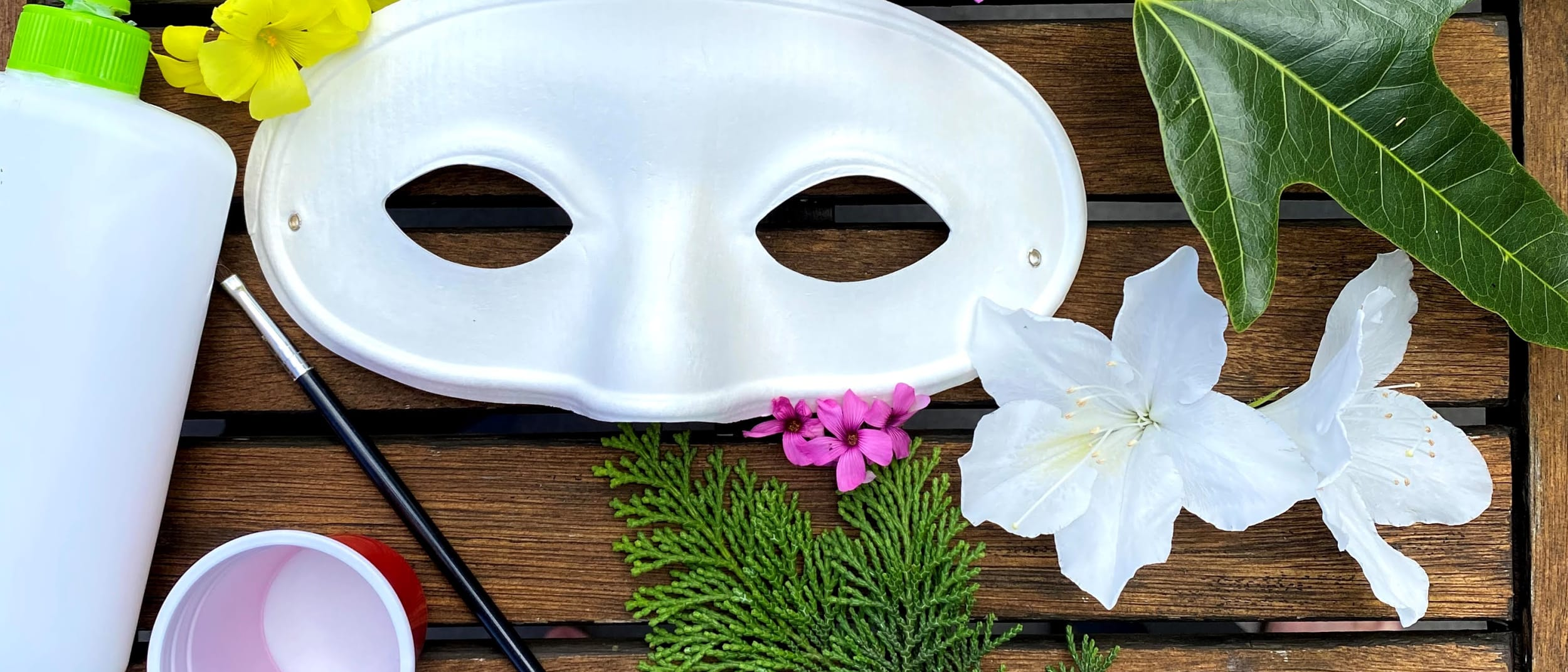 DIY nature craft at home