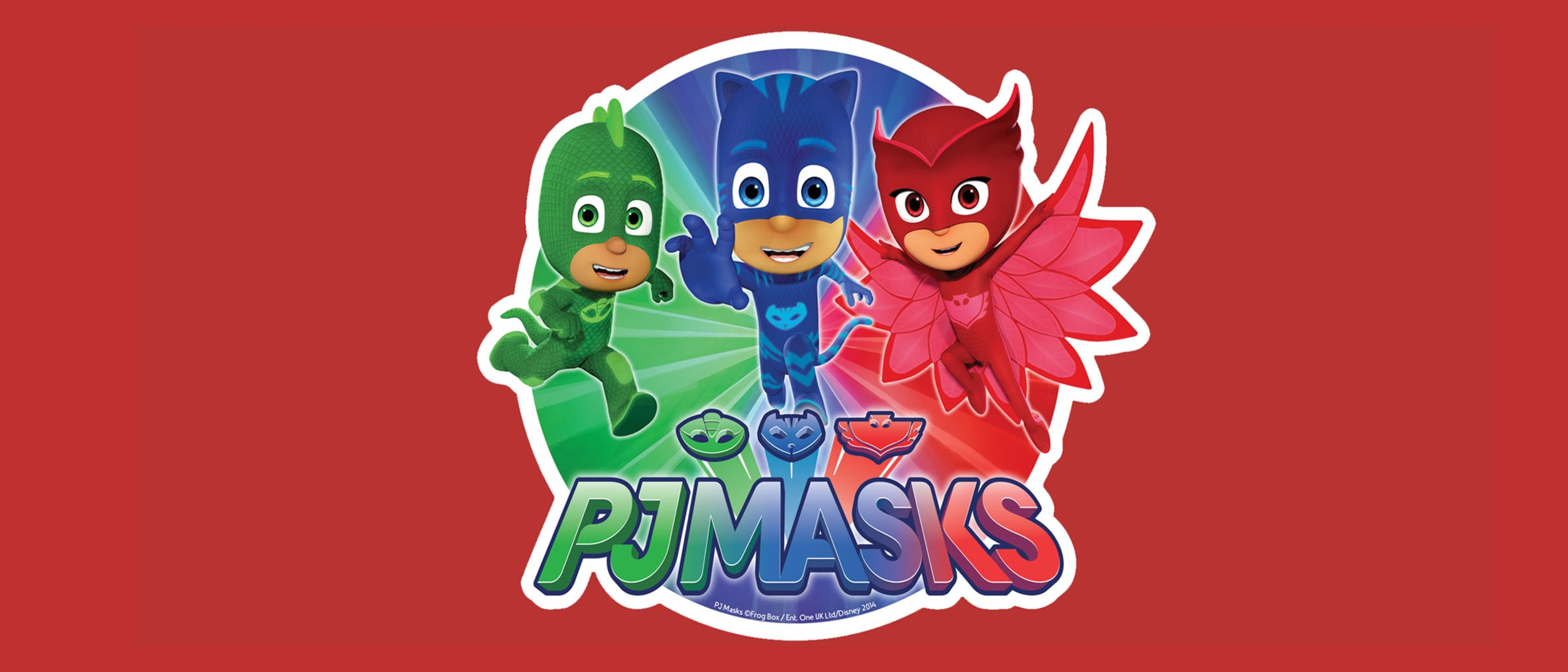 PJ MASKS: Meet Catboy, Owlette and Gekko