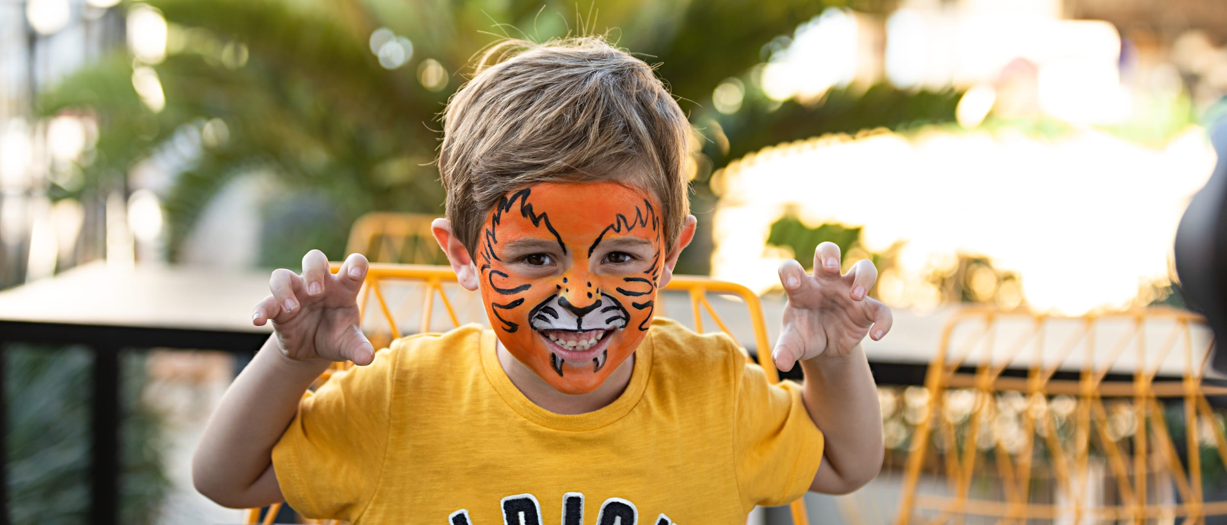 Baby City free face-painting