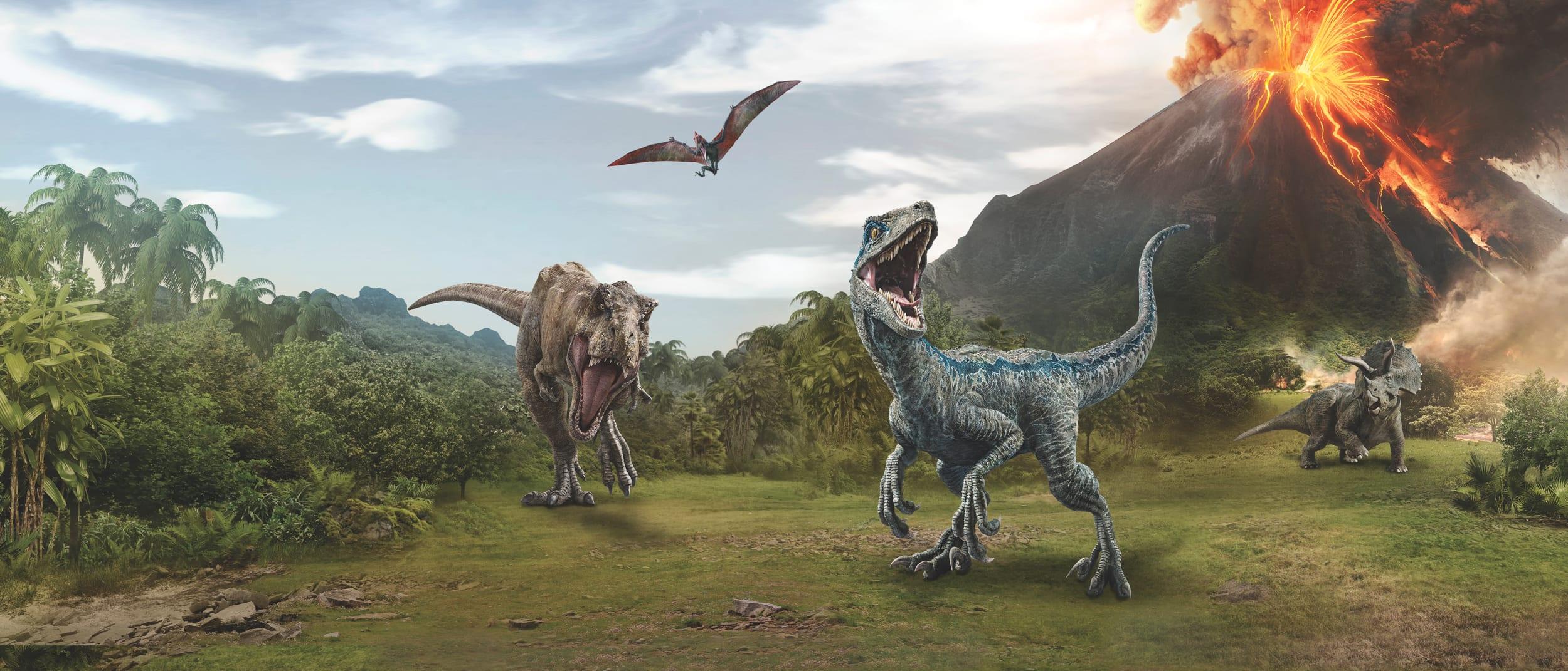 School holidays Jurassic World craft village