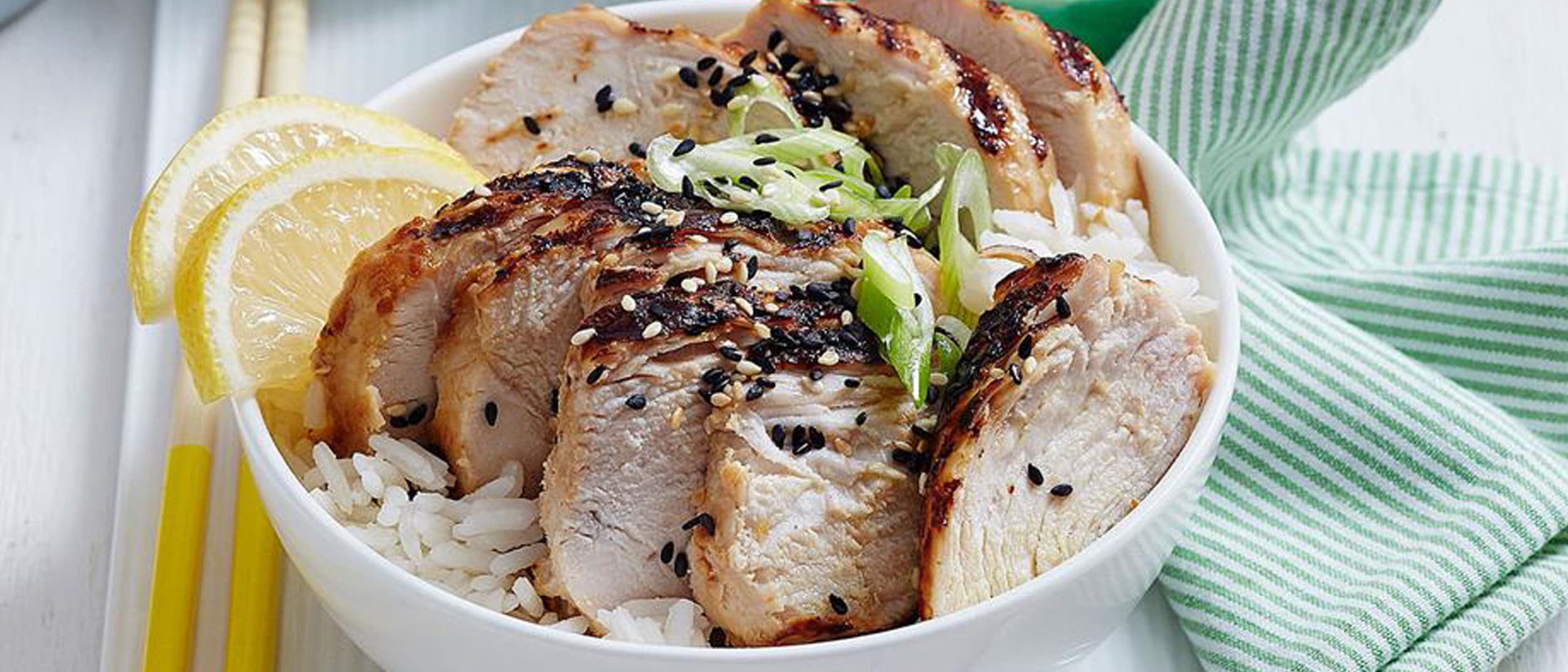 Grilled Chicken with Miso and Spring Onion recipe from Japan Mart