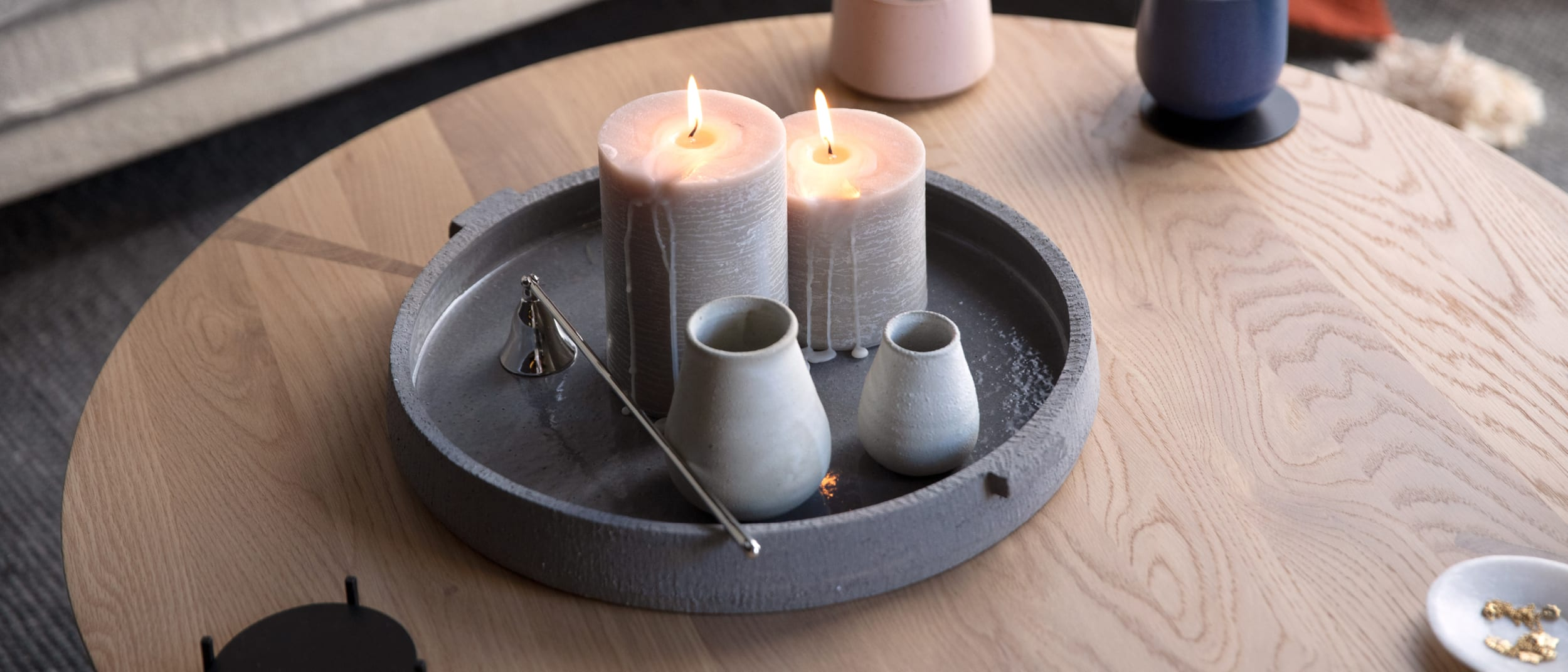 The 4 perfect candles for creating a winter escape
